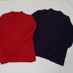 2 Anne Klein sweaters